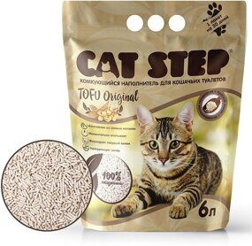 Наполнитель Cat Step Original  Tofu (для кошачьих туалетов)