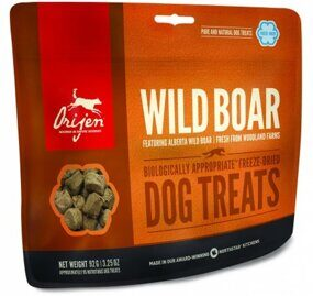 Лакомство для собак Orijen Dog Wild Boar treats Дикий Кабан